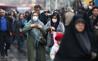 الصورة: الصورة: إيران: وفاة 34 شخصاً وإصابة 388 بفيروس كورونا