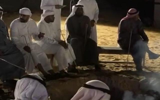 الصورة: الصورة: صحراء دبي في موسم الشتاء