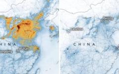 الصورة: الصورة: ناسا: كورونا ساهم في تنقية الهواء في الصين وتراجع حدة التلوث