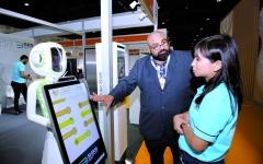 الصورة: الصورة: أحمد بن سعيد: الإمارات مركز دولي للتقنيات المتطورة