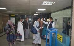 الصورة: الصورة: فحص طبي إجباري على الركاب القادمين إلى مصر بسبب كورونا