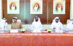 الصورة: الصورة: محمد بن راشد: الإمارات أرض الاستثمار وشريك لأكبر اقتصادات العالم