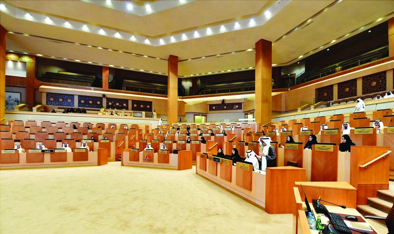 الصورة : خلال جلسة المجلس الوطني | من المصدر