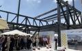 الصورة: الصورة: إنجاز هيكل مبنى«ملتقى ألمانيا» في «إكسبو»