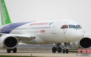 الصورة: الصورة: عملاق الطائرات الصينية تجري تجارب الانزلاق