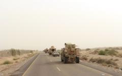الصورة: الصورة: الشرعية تخترق خطوط الميليشيا شرق صنعاء