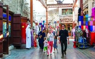 الصورة: الصورة: الأسواق الشعبية القديمة في الإمارات