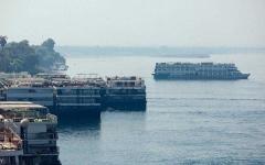 الصورة: الصورة: ارتفاع الإصابات بكورونا على متن سفينة الأقصر إلى 45 حالة