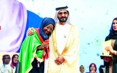 الصورة: الصورة: محمد بن راشد: فخور بأن تكون القراءة أكبر مسابقة عربية
