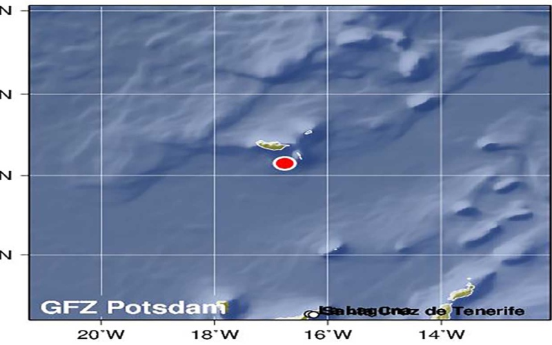 الصورة: الصورة: زلزال بقوة 6.2 درجة يضرب جزر ماديرا البرتغالية