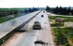 الصورة: الصورة: ادعاءات أنقرة بشأن إدلب يكذبها «الدب الروسي»