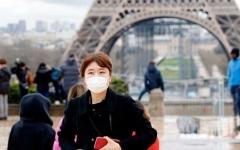 الصورة: الصورة: فرنسا تحظر جميع التجمعات لأكثر من ألف شخص
