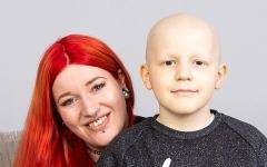 الصورة: الصورة: طفل يتغلب على سرطان نادر بإزالة كبده!
