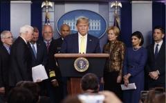 الصورة: الصورة: البيت الأبيض: ترامب لم يخضع لفحوصات الكشف عن كورونا