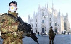 الصورة: الصورة: إيطاليا تطلب من 60 مليون شخص البقاء في منازلهم لوقف كورونا