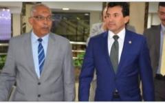 الصورة: الصورة: وزير الرياضة المصري يعلن تعليق الانشطة الرياضية ذات الكثافة الجماهيرية