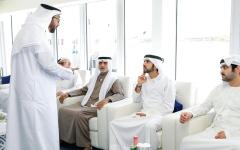 الصورة: الصورة: حمدان بن محمد: الإمارات على أعتاب نمو قوي يؤكد ريادتها الاقتصادية