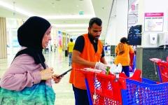 الصورة: الصورة: تأمين التسوّق في دبي بتدابير وقائية حصينة