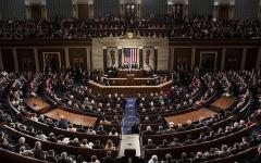 الصورة: الصورة: الكونغرس يصادق على قرار يحدّ من صلاحيات ترامب بشن حرب على إيران