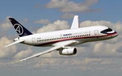 الصورة: الصورة: طائرة ركاب روسية قادمة إلى موسكو تطلق إشارة استغاثة