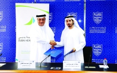 الصورة: الصورة: «صحة دبي» توثّق شراكتها مع كلية محمد بن راشد للإدارة الحكومية