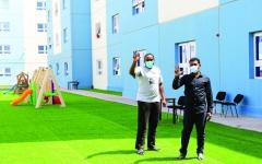 الصورة: الصورة: 3 فحوص سليمة  لضيوف «الإمارات الإنسانية» ويغادرون الأربعاء