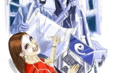 الصورة: الصورة: سد الفجوة بين الجنسين في التمويل والتكنولوجيا