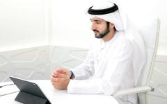 الصورة: الصورة: حمدان بن محمد: رؤية محمد بن راشد مكنت دبي من بنية قوية قادرة على اجتياز الامتحان