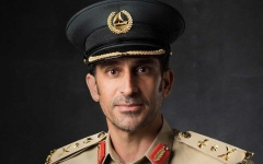 الصورة: الصورة: محمد بن راشد يصدر قرارا بترقية عبدالله خليفة المري قائد عام شرطة دبي إلى رتبة فريق