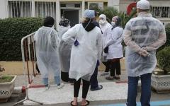 الصورة: الصورة: ارتفاع وفيات كورونا في الجزائر إلى 12