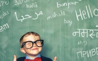 الصورة: الصورة: العمر الأفضل لتعلم لغة أجنبية ما قبل سن الـ10