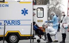 الصورة: الصورة: فرنسا : ارتفاع عدد الوفيات بسبب كورونا إلى 562 حالة