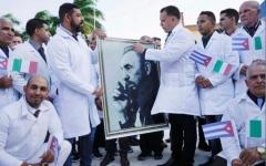 الصورة: الصورة: أطباء كوبيون يتوجهون لإيطاليا لمحاربة فيروس كورونا