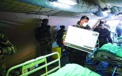 الصورة: الصورة: الصـين تكثّف إجراءاتها لدحر «كورونا الخارج»