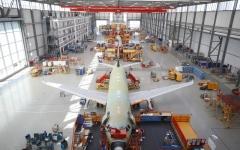 الصورة: الصورة: «إيرباص» تستأنف الإنتاج جزئياً في فرنسا وإسبانيا