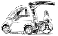 الصورة: الصورة: تمكين أصحاب الهمم من قيادة السيارات