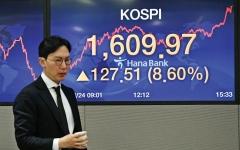 الصورة: الصورة: بارقة أمل تنعش الأسواق العالمية.. وول ستريت تصعد وسط آمال تحفيز بتريليوني دولار