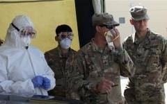 الصورة: الصورة: ارتفاع عدد المصابين بكورونا في الجيش الأمريكي