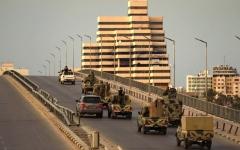 الصورة: الصورة: الجيش الليبي يتصدى لهجوم الميليشيات  في محاور جنوب طرابلس