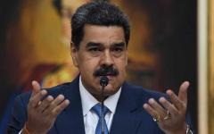 """الصورة: الصورة: أمريكا تتهم الرئيس الفنزويلي بممارسة """"إرهاب المخدات"""""""