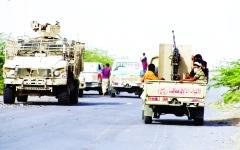 الصورة: الصورة: الشرعية تحرّر مناطق استراتيجية في صرواح والجوف