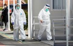 الصورة: الصورة: أمريكا تستعد للأسوأ وإسبانيا تسجل حصيلة وفيات قياسية بكورونا