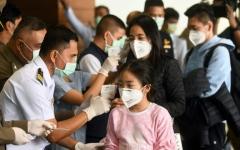 الصورة: الصورة: تايلاند تعلن تسجيل 136 حالة إصابة جديدة بفيروس كورونا ليرتفع مجمل الإصابات إلى 1524