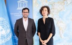 الصورة: الصورة: دبي العطاء تنضم إلى التحالف العالمي للتعليم الذي أطلقته اليونيسكو