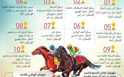 الصورة: الصورة: 65 سيارة وأكثر من 28 مليون درهم جوائز موسم سباقات الوثبة