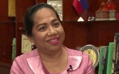 الصورة: الصورة: وفاة سفيرة الفلبين فى لبنان بعد إصابتها بكورونا
