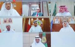 الصورة: الصورة: محافظو البنوك المركزية الخليجية: التدابير الاحترازية لن تزيد مخاطر الإقراض