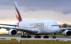 """الصورة: الصورة: """"إياتا"""": التشغيل الجزئي لرحلات """"طيران الإمارات"""" خطوة إيجابية"""