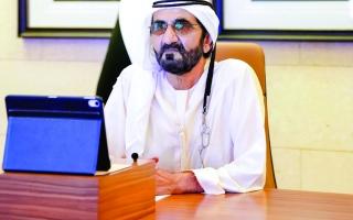محمد بن راشد: لا نعرف التوقف ولا نحب الراحة..  وماضون في تحقيق تطلعاتنا ومشاريعنا الوطنية