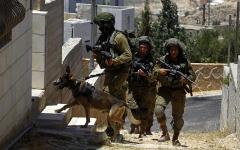 الصورة: الصورة: جنود إسرائليون يبصقون على منازل ومركبات الفلسطينيين